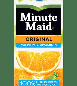 MINUTE MAID ORANGE JUICE W/ CALCIUM, 59OZ