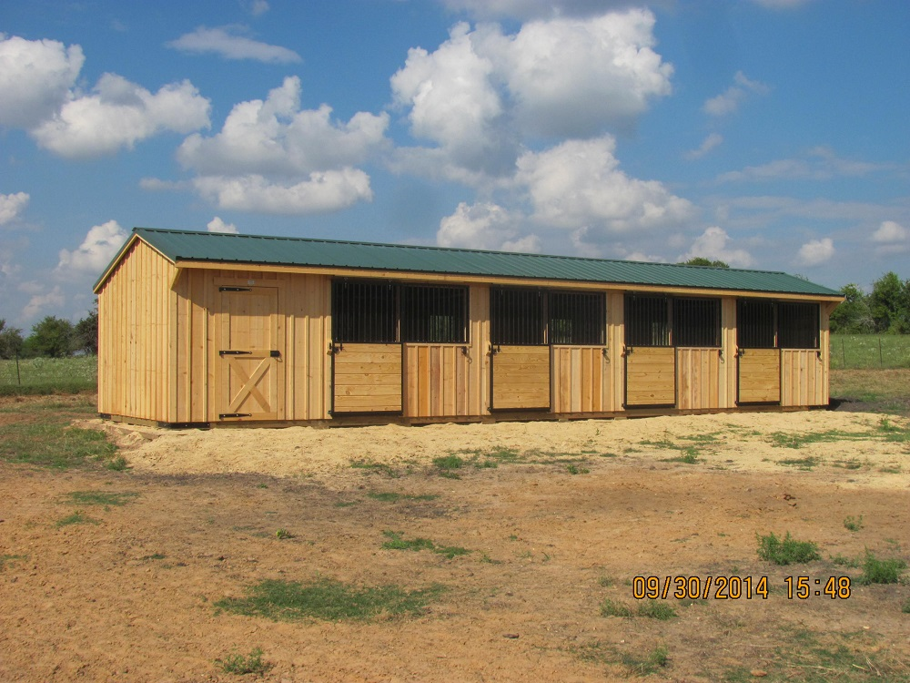 10 Portable Horse Barns Amp Shedrow Barns Deer Creek Structures