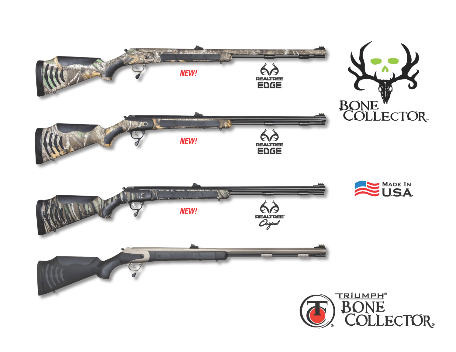 Thompson/Center Arms™ Launches New Patterns for the Triumph