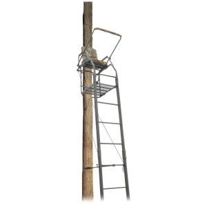 guide gear 25' deluxe double rail ladder tree stand review