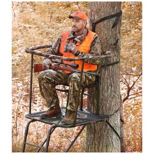 guide gear 16' swivel tree stand reviews
