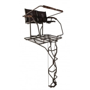 summit treestands the vine double ladder stand review