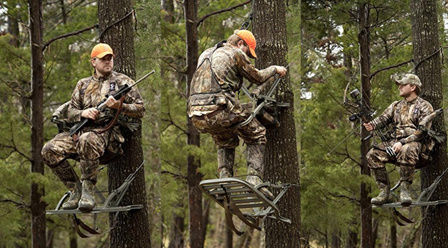 Summit Treestands Razor Sd Review Climbing Tree Stand Hunting