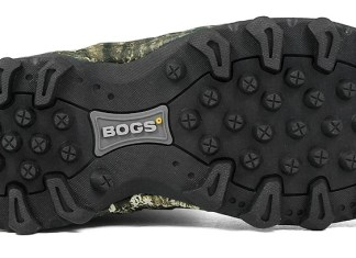 photo of bogs diamondback waterproof hunting boots sole