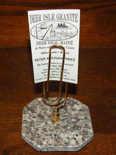Deer Isle Granite Company Granite Pen Sets Paperweights