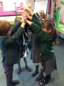 Year 2 Joins Hands celebrating Florence Nightingale