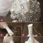20 Chic Brooch Wedding Bouquets With Diy Tutorial Deer Pearl Flowers