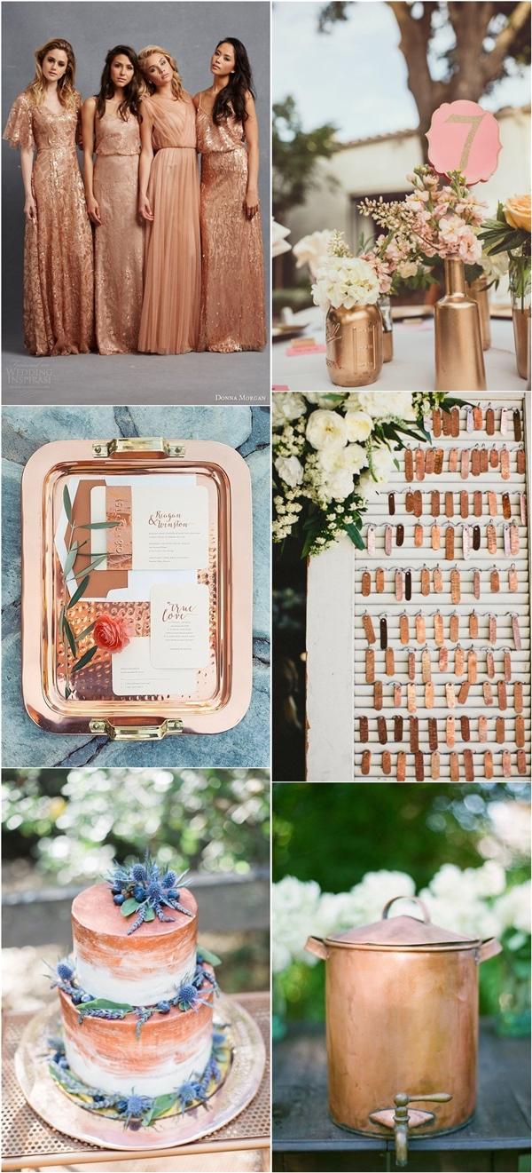 50 Amazing Vintage Bronze Amp Copper Wedding Color Ideas