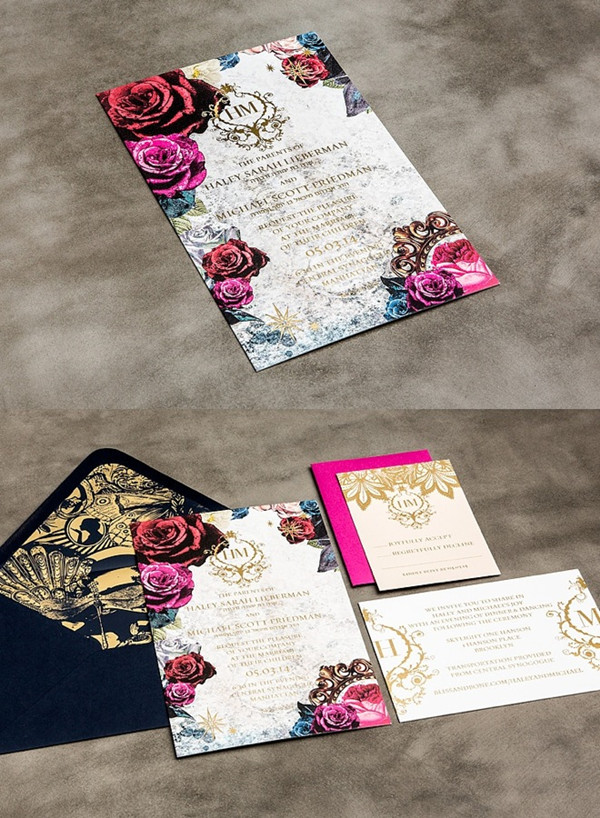 Wedding Invitation Printing Mesmerizing