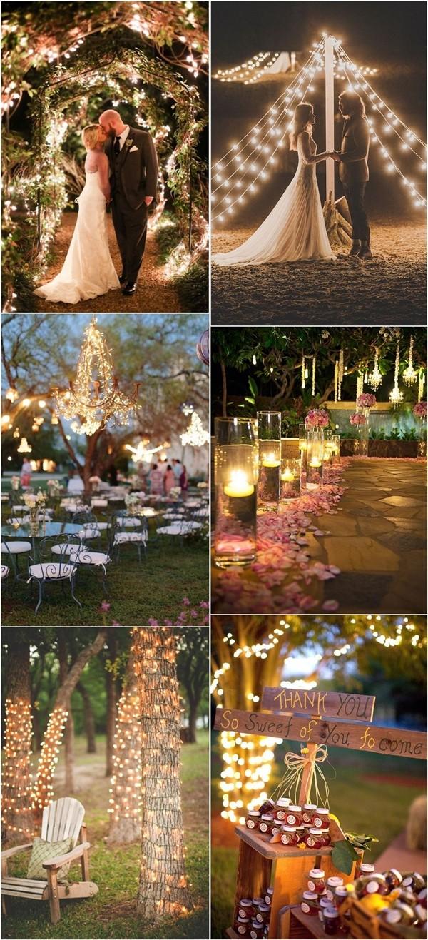 whimsical wedding lighting ideas