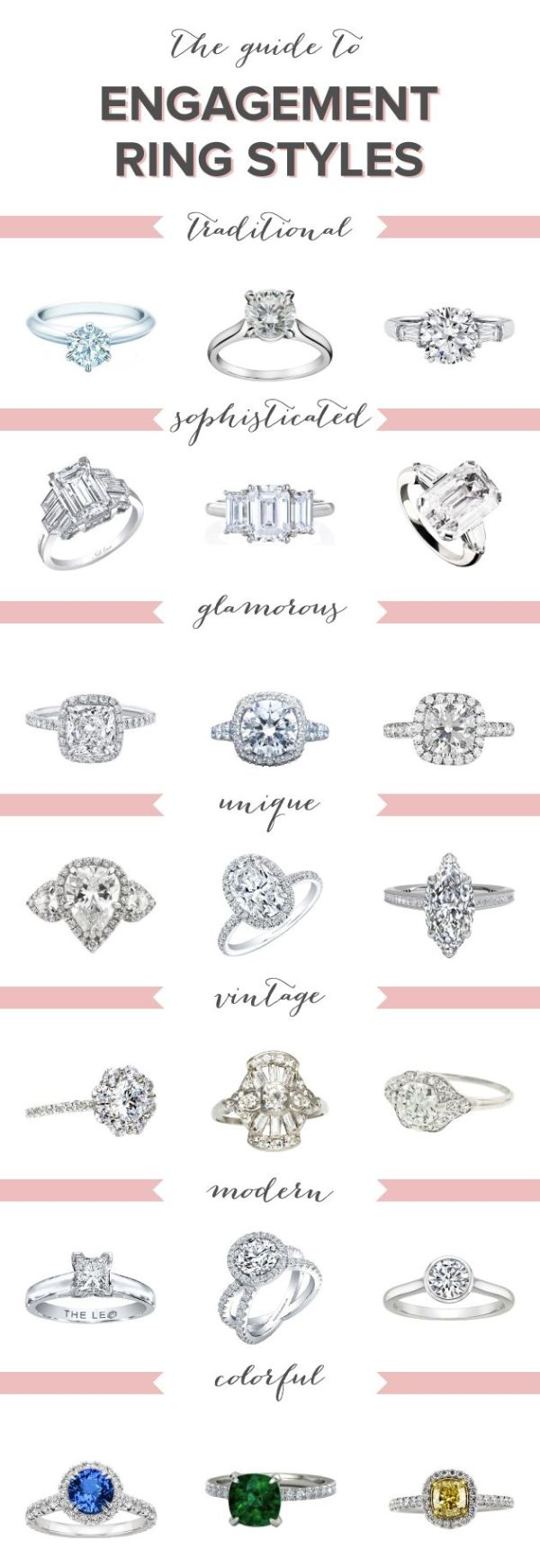 55 Sparkling Engagement and Wedding Rings (with Tips ...