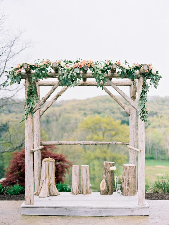 30 Perfect Ideas For A Rustic Wedding Deer Pearl Flowers