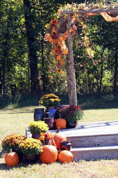 36 Fall Wedding Arch Ideas For Rustic Wedding Deer Pearl Flowers