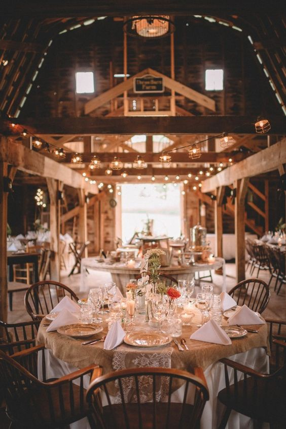30 Barn Wedding Reception Table Decoration Ideas Deer Pearl Flowers