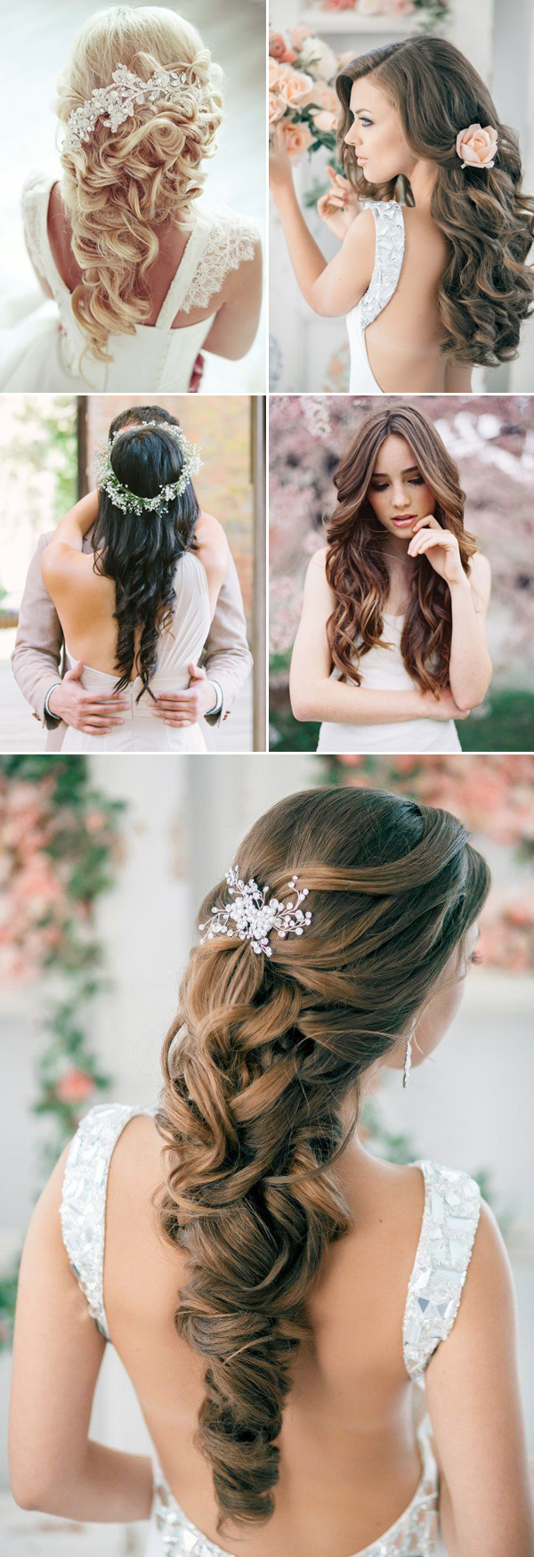 42 steal-worthy wedding hairstyles for long hair | deer