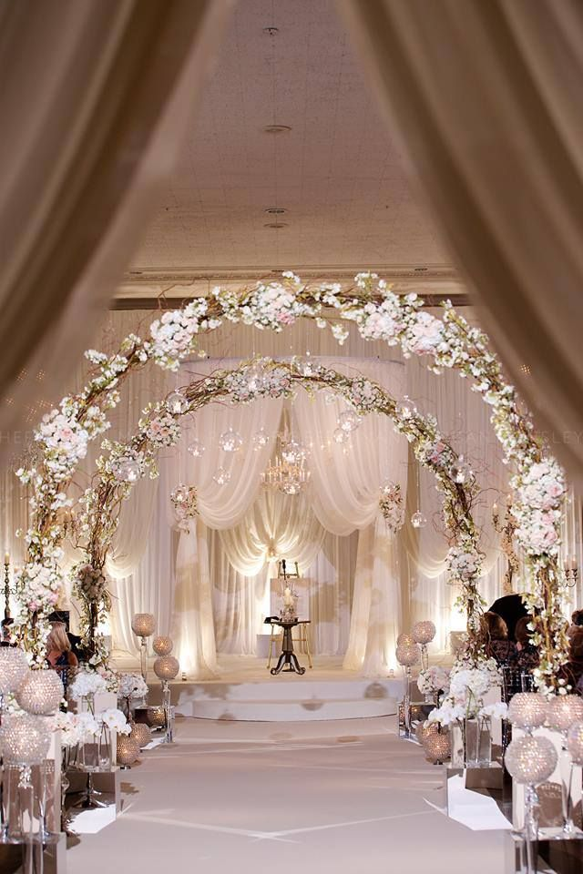 25 Romantic Winter Wedding Aisle Dcor Ideas Deer Pearl