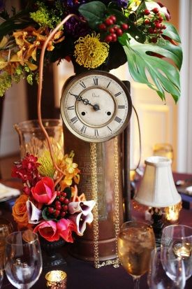 50 Awesome And Unique Steampunk Wedding Ideas Deer Pearl Flowers Part 4