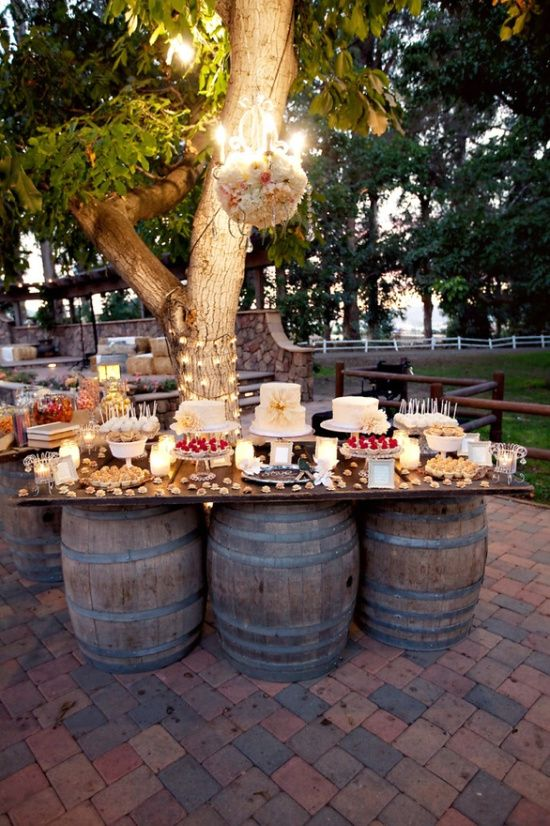 35 Creative Rustic Wedding Ideas To Use Wine Barrels Deer Pearl Flowers