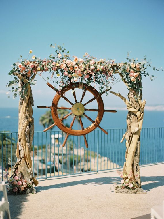 40 Great Ideas Of Beach Wedding Arches Deer Pearl Flowers Part 2