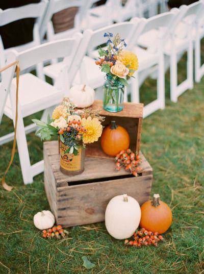 Unique Autumn Wedding Favors