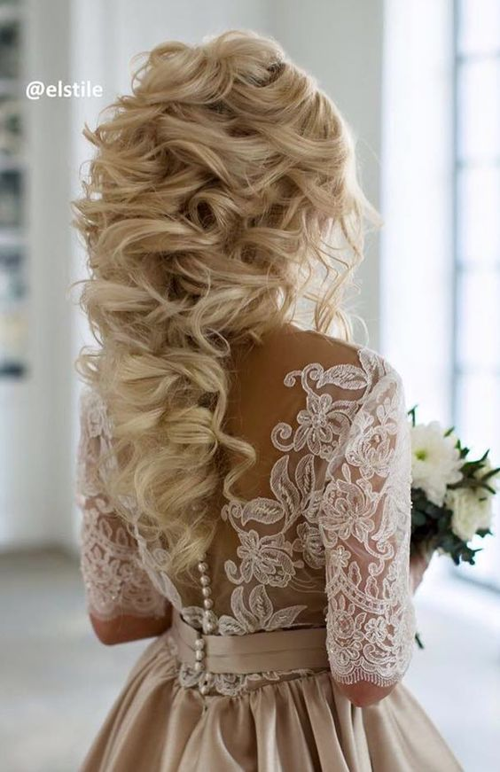 60 Perfect Long Wedding Hairstyles With Glam Deer Pearl