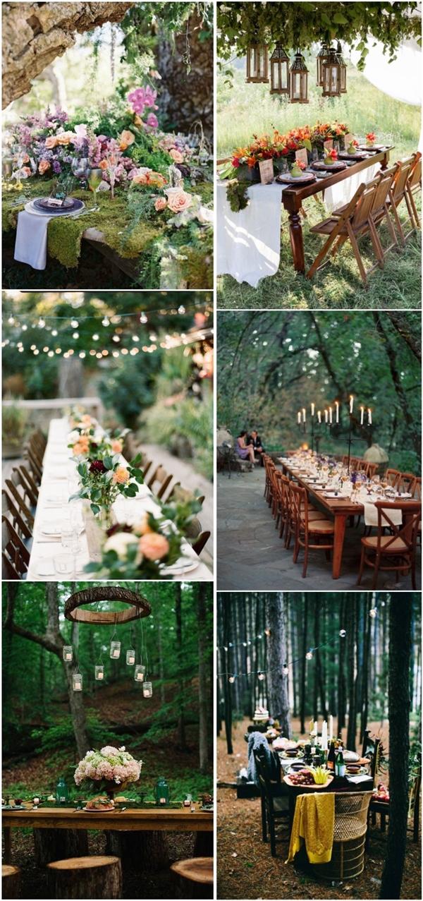 30 Woodland Wedding Table Dcor Ideas Deer Pearl Flowers