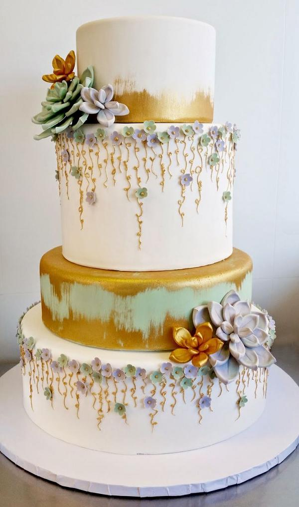 25 Gorgeous Beautiful Wedding Cake Ideas Deer Pearl Flowers