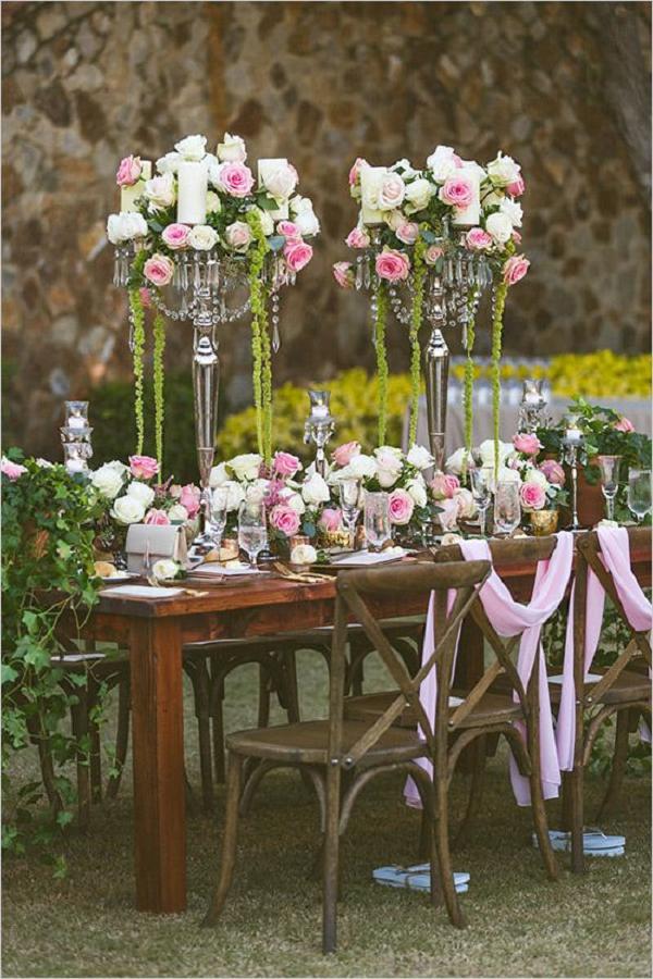 35 Rustic Backyard Wedding Decoration Ideas   Deer Pearl ... on Rustic Backyard Ideas id=30212