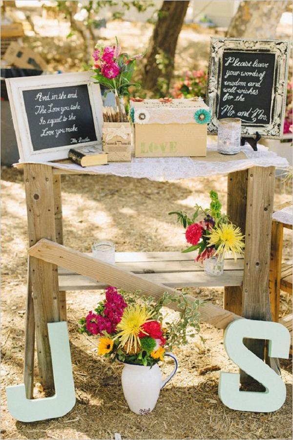 35 Rustic Backyard Wedding Decoration Ideas   Deer Pearl ... on Rustic Backyard Ideas id=43804