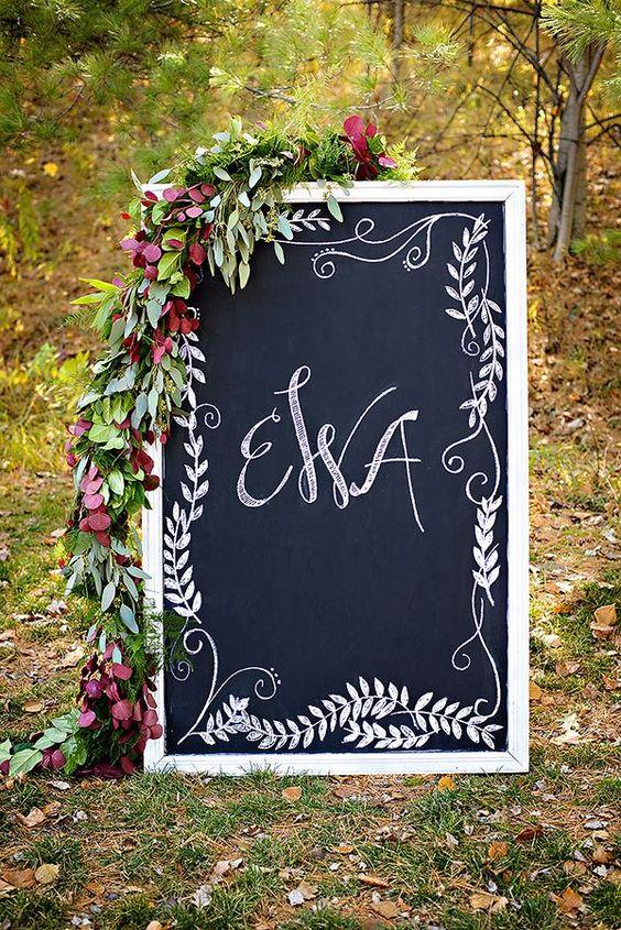40 Chalkboard Wedding Ideas To Steal Immediately Deer