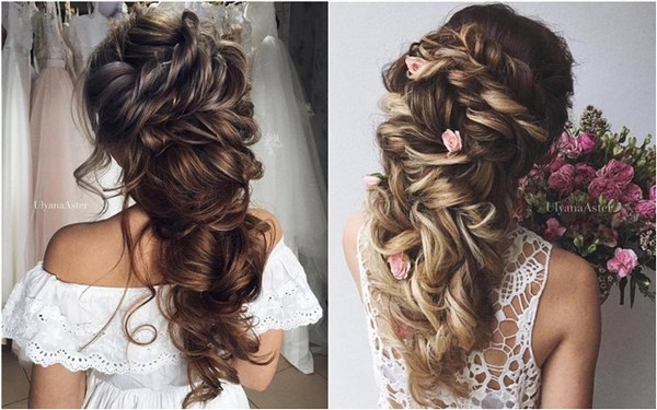 wedding updo hairstyles for long hair from ulyana aster