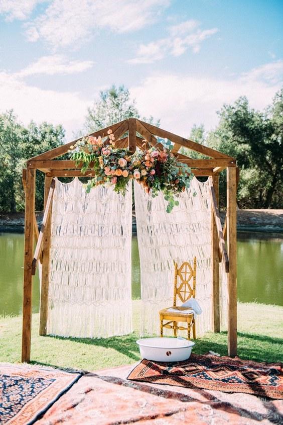 20 Splendid Vintage Bohemian Wedding Ideas Deer Pearl