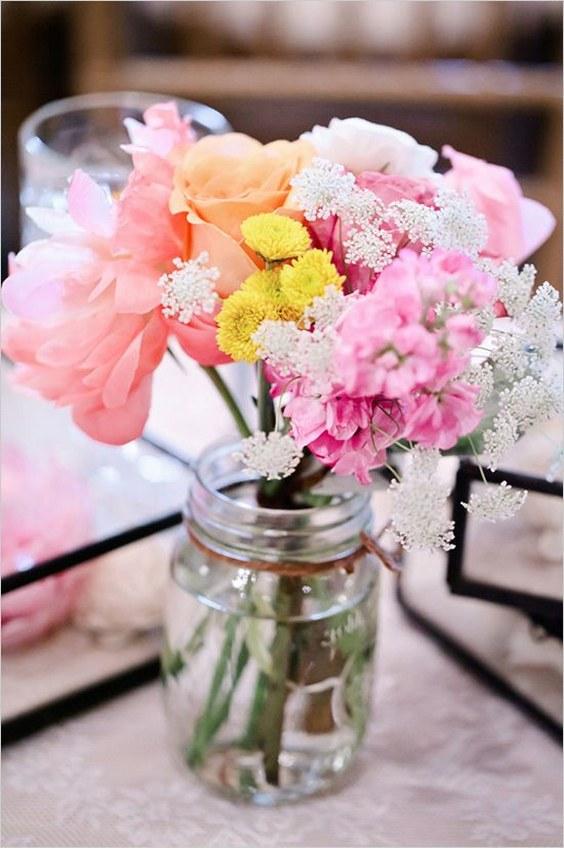30 Best Cheap Rustic Mason Jar Wedding Ideas Deer Pearl Flowers Part 2