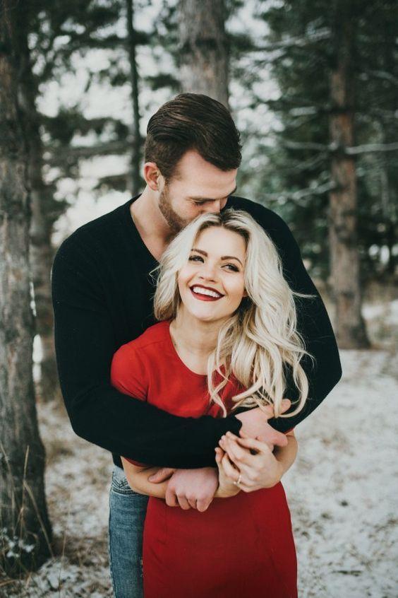 60 Best Ideas of Fall Engagement Photo Shoot | Deer Pearl