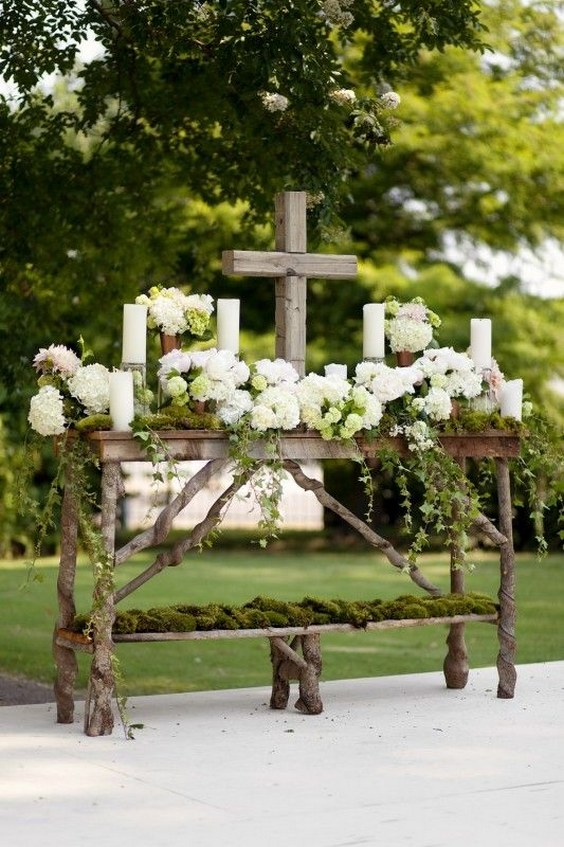Christian Wedding Ideas 25 Wedding Christ Centered Amp Cross Details Deer Pearl Flowers