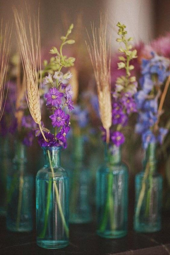 30 Fall Rustic Country Wheat Wedding Decor Ideas Deer Pearl Flowers