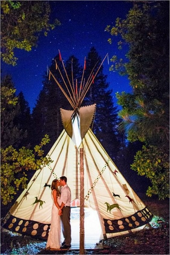 28 Whimsical Bohemian Teepee Wedding Details Deer Pearl Flowers