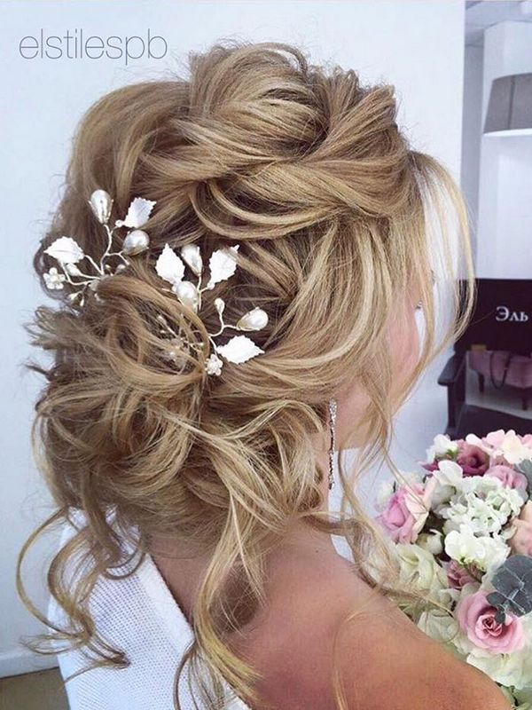 75 Chic Wedding Hair Updos For Elegant Brides Deer Pearl