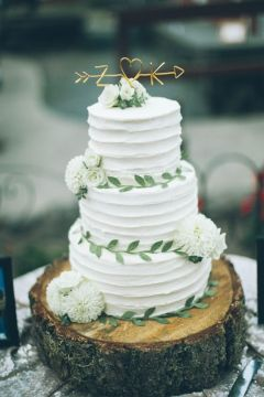 50 Amazing Wedding Cake Ideas for Your Special Day    Deer Pearl Flowers Simple White Wedding Cakes