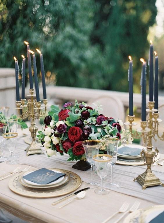 25 Burgundy And Navy Wedding Color Ideas Deer Pearl Flowers Part 2