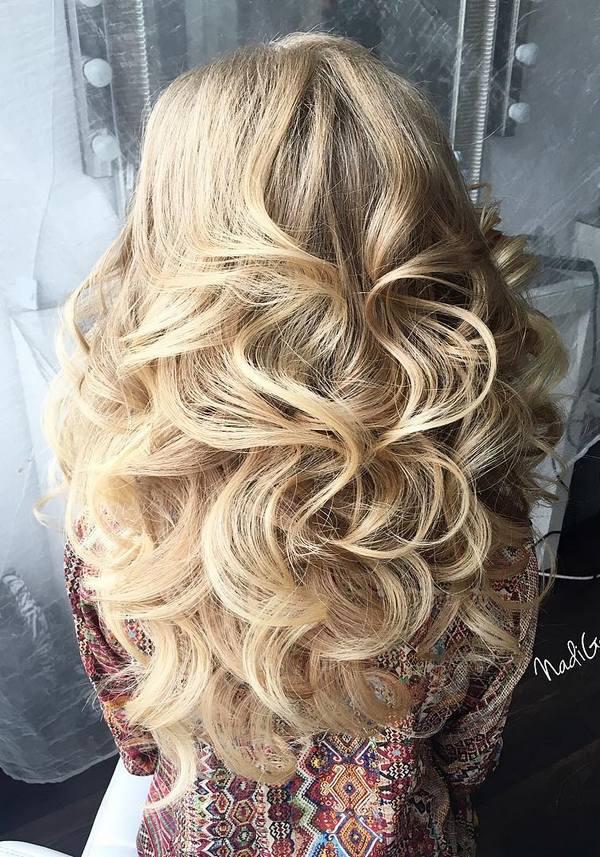 40 Stuning Long Curly Wedding Hairstyles From Nadi Gerber