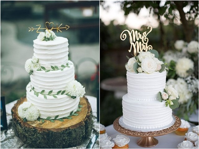 50 Amazing Wedding Cake Ideas for Your Special Day    Deer Pearl Flowers White wedding cake ideas