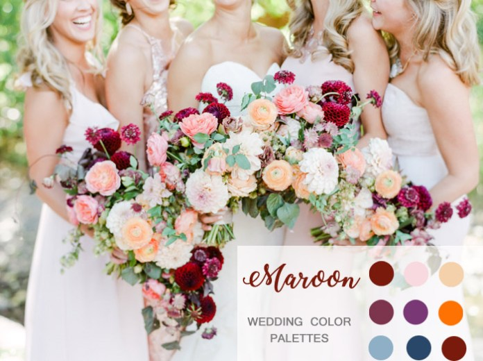 Image result for BOUQUET of blush pink, mint and shades of red.