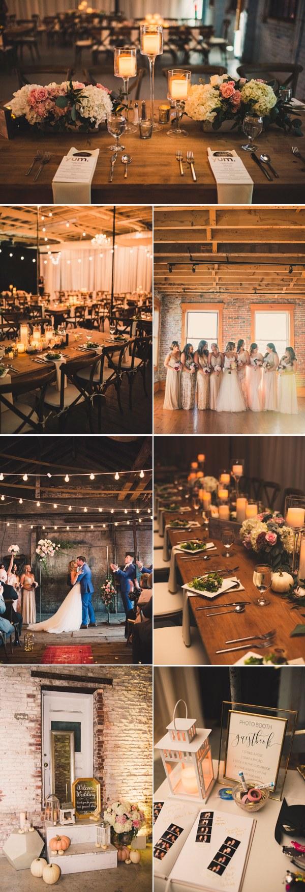 rustic barn industrial wedding theme ideas