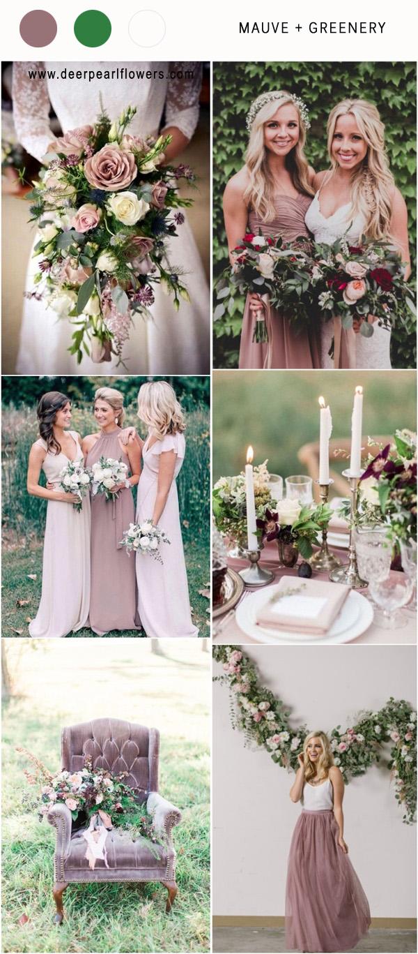 Fall Wedding Colors Purple