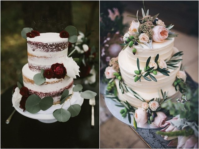 Top 5 Wedding Cake Trends In 2018   Deer Pearl Flowers rustic wedding cake ideas