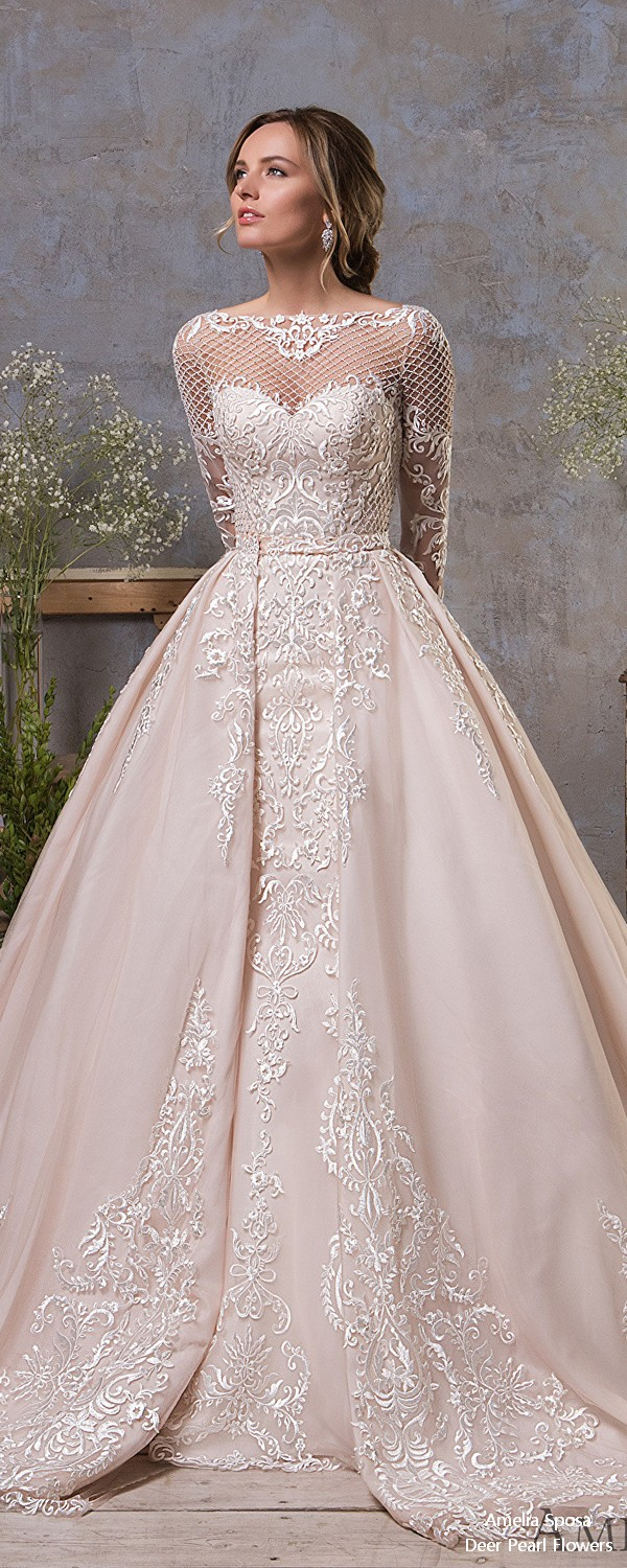 Amelia Sposa Wedding Dresses 2019 In Love With Lace