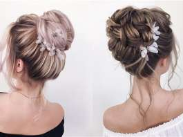 Deer Pearl Flowers   Wedding Colors   Ideas 30 Best Xenia stylist Wedding Updo Hairstyles