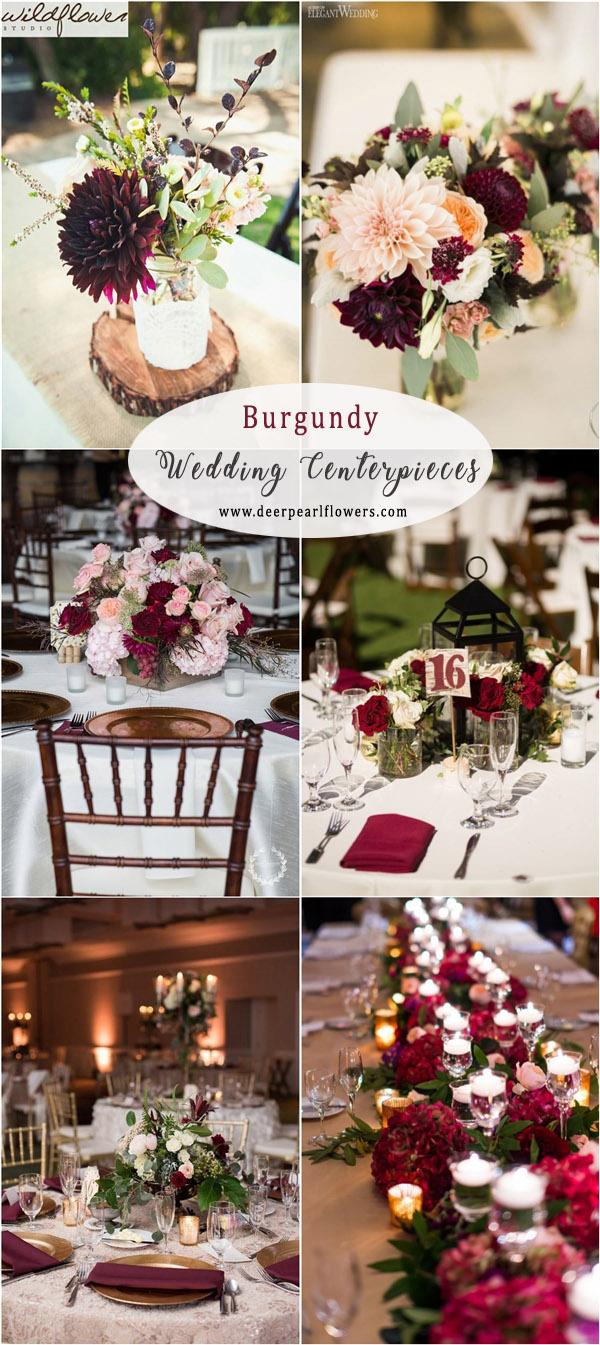 Fall Wedding Table Ideas