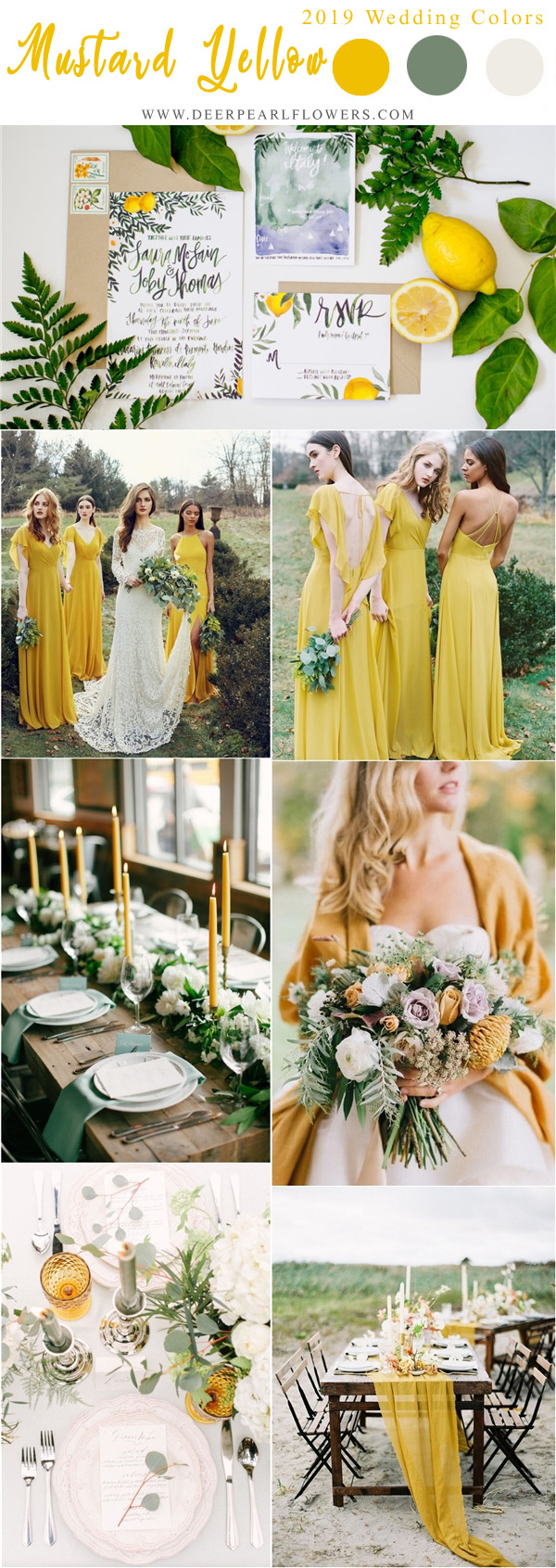 Top 10 Wedding Color Scheme Ideas For 2019 Trends Deer